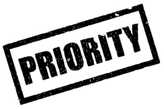 Top-Prioritäten