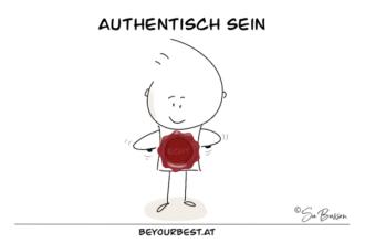 Authentisch sein
