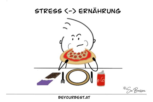 Ernährungsregeln bei Stress