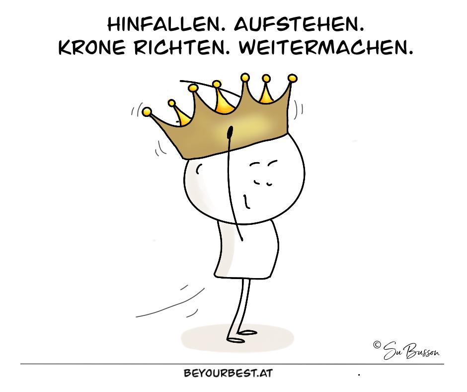 Krone richten